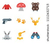 set of 9 simple editable icons... | Shutterstock .eps vector #1112632715