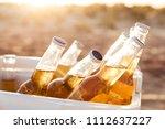 Close Up Of Beer Bottles...