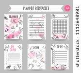 lingerie fashion bra and... | Shutterstock .eps vector #1112648981