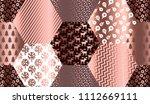 elegant luxury xmas seamless... | Shutterstock .eps vector #1112669111
