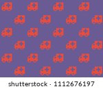endless repeating crimson... | Shutterstock . vector #1112676197