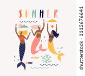 Summer Vector Illustration Wit...