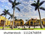lima landmark  peru   Shutterstock . vector #1112676854