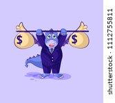 vector stock isolated emoji... | Shutterstock .eps vector #1112755811