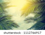 table background and summer... | Shutterstock . vector #1112766917