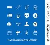 modern  simple vector icon set... | Shutterstock .eps vector #1112781755