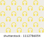 endless repeating amber gold... | Shutterstock . vector #1112786054