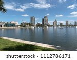 south yacht basin  st.... | Shutterstock . vector #1112786171