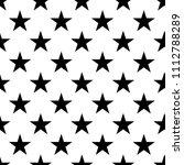 seamless stars retro pattern.... | Shutterstock .eps vector #1112788289