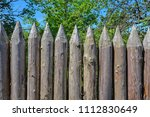 close up view of defensive... | Shutterstock . vector #1112830649