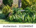 detail of a landscaped garden...   Shutterstock . vector #1112848565