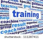 training message conceptual... | Shutterstock . vector #111287411
