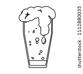line beer with floth liquor...   Shutterstock .eps vector #1112880035