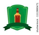 tequila liquor bottle beverage...   Shutterstock .eps vector #1112880671