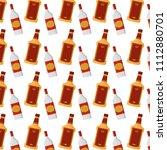 tequila and schnapps liquor...   Shutterstock .eps vector #1112880701