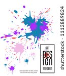 covers templates set with... | Shutterstock .eps vector #1112889824