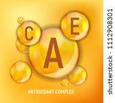 vitamin a  c  e  icon.... | Shutterstock .eps vector #1112908301