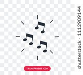 music vector icon isolated on...