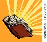 the book shines  light of...   Shutterstock .eps vector #1112910419