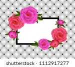 illustration of greeting or... | Shutterstock .eps vector #1112917277