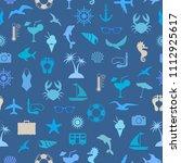 illustration of seamless... | Shutterstock .eps vector #1112925617