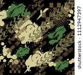 abstract seamless sport pattern ... | Shutterstock . vector #1112947397