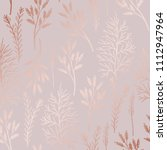 delicate vector pattern with... | Shutterstock .eps vector #1112947964