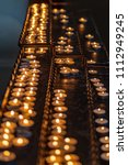 candles in churches | Shutterstock . vector #1112949245
