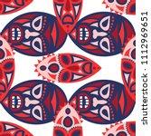 seamless pattern. african...   Shutterstock .eps vector #1112969651