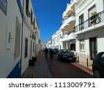 albufeira   algarve   portugal | Shutterstock . vector #1113009791