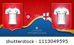 football cup 2018 world... | Shutterstock .eps vector #1113049595
