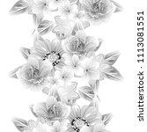 abstract elegance seamless... | Shutterstock .eps vector #1113081551