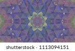 geometric design  mosaic of a... | Shutterstock .eps vector #1113094151