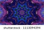 geometric design  mosaic of a... | Shutterstock .eps vector #1113094394