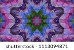 geometric design  mosaic of a...   Shutterstock .eps vector #1113094871