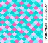 vector seamless multicolored... | Shutterstock .eps vector #1113107654