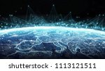 connections system and global... | Shutterstock . vector #1113121511