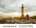 the buddha is on top of the... | Shutterstock . vector #1113127901