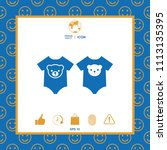 baby rompers icon | Shutterstock .eps vector #1113135395