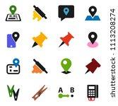 solid vector ixon set  ... | Shutterstock .eps vector #1113208274