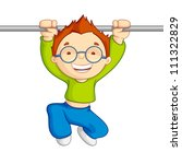 vector illustration of kid... | Shutterstock .eps vector #111322829