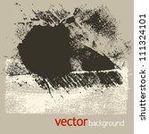 grunge textures  vector set 6 | Shutterstock .eps vector #111324101