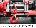 winch with hook for self... | Shutterstock . vector #1113242999