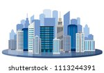 illustration material  city ... | Shutterstock .eps vector #1113244391