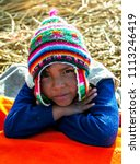 uros  peru   may 02  2012    a... | Shutterstock . vector #1113246419