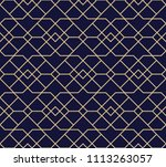 the geometric pattern with... | Shutterstock .eps vector #1113263057