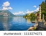 varenna villa monastero... | Shutterstock . vector #1113274271