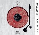 musical poster for your design. ...   Shutterstock .eps vector #1113277964