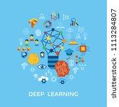 digital vector deep structured... | Shutterstock .eps vector #1113284807