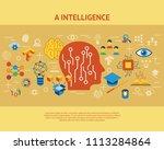 digital vector deep structured... | Shutterstock .eps vector #1113284864